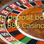 20 no deposit bonus at 888 Casino