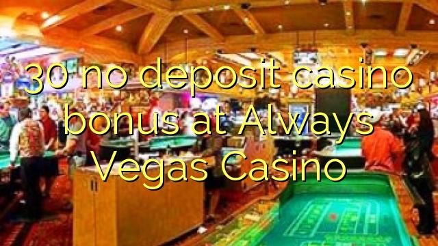 always vegas casino no deposit