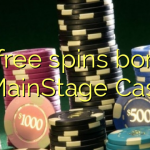 35 free spins bonus at MainStage Casino