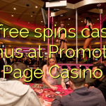 40 free spins casino bonus at Promotion Page Casino