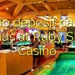 40 δεν μπόνους κατάθεσης στο Ruby Καζίνο