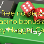 70 free no deposit casino bonus at Lucky Nugget Casino
