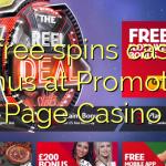 75 free spins casino bonus at Promotion Page Casino
