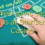 80 free spins casino bonus at StarGames Casino