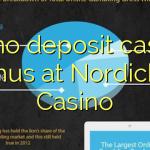 80 ne casino bonus vklad na Nordicbet kasinu