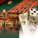 85 free spins at Chance Hill Casino