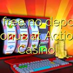 95 free no deposit bonus at Action Casino