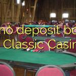 105 no deposit bonus at Classic Casino