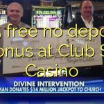 125 free no deposit bonus at Club Sa Casino