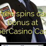 145 free spins casino bonus at SuperCasino Casino