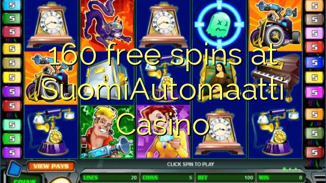 160 free spins at SuomiAutomaatti Casino