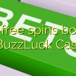 Bônus de rotações 170 grátis no BuzzLuck Casino