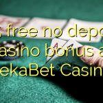 175 free no deposit casino bonus at SekaBet Casino