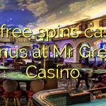 175自由はグリーン氏のカジノでカジノのボーナスを回転させます