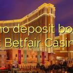 25 no deposit bonus at Betfair Casino