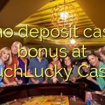 30 no deposit casino bonus at TouchLucky Casino
