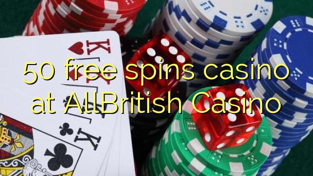 casino british 50 free spins code