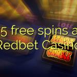 75 free spins at Redbet Casino