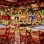 90 free spins casino bonus at 007Slots Casino