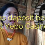 25 no deposit bonus at Yebo Casino