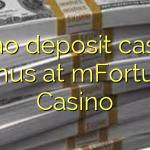 35 engin innborgun spilavítisbónus hjá mFortune Casino