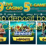 75 no deposit bonus at Caribic Casino