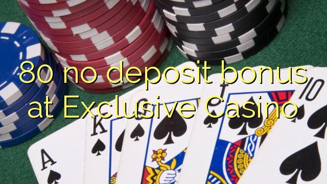 exclusive casino no deposit