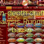 Dybdegående udkast analyse: running backs