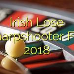 Irish Lose Sharpshooter For 2018