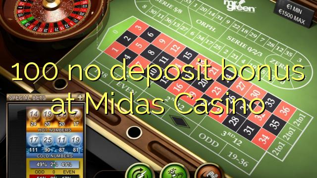 no deposit bonus codes for casino midas