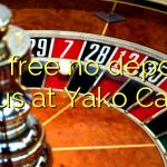 115 free no deposit bonus at Yako Casino
