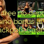125 free no deposit casino bonus at All Jackpots Casino