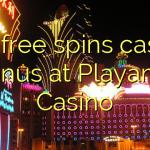 130 free spins casino bonus at Playamo Casino