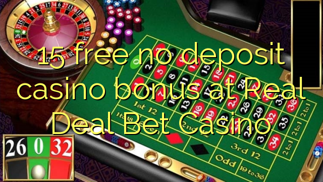 real deal bet casino no depoiste