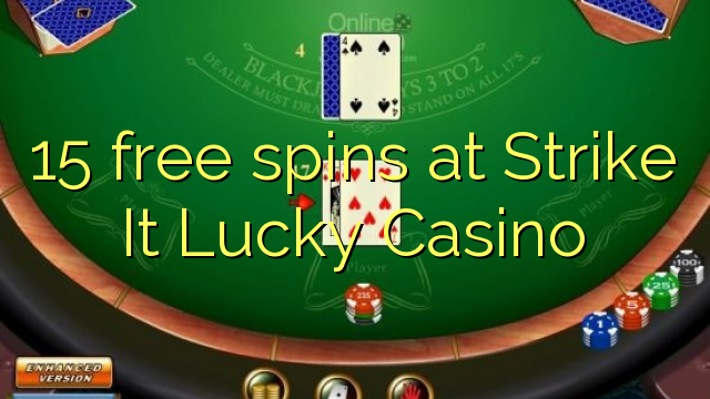 strike it lucky casino