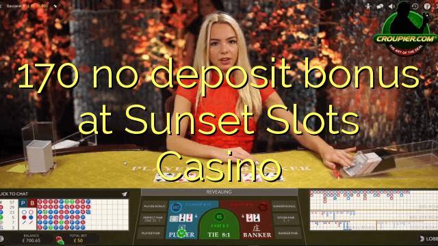 sunset slots casino no deposit bonus codes
