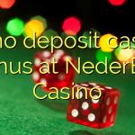 45 no deposit casino bonus at NederBet Casino