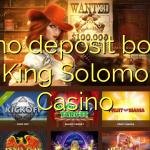 60 no deposit bonus at King Solomons Casino