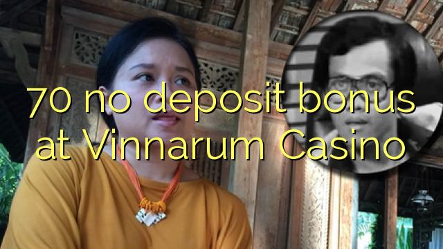 70 no deposit bonus at Vinnarum Casino