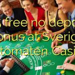 135 free no deposit bonus at Sverige Automaten Casino