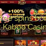 15 free spins bonus at Kaboo Casino
