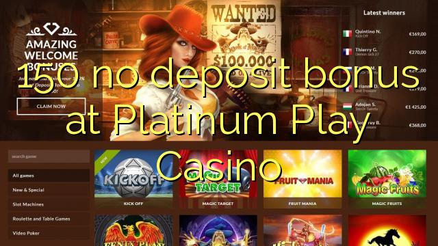 platinum play no deposit bonus codes
