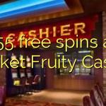 155 free spins at Pocket Fruity Casino