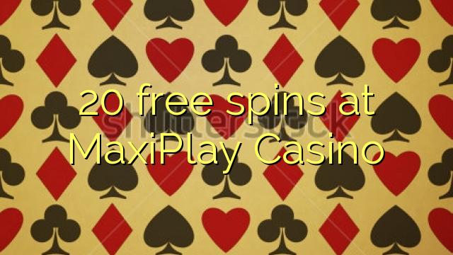 online casino 20 free spins