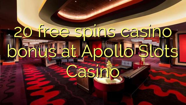 20 free spins casino