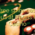 25 gratis spins casino bonus på Vegas Red Casino