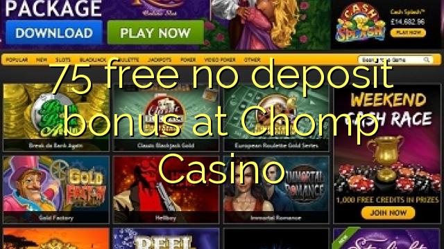 chomp casino bonus codes