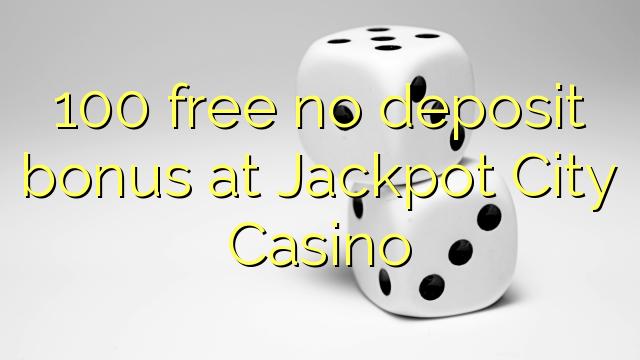 Free jackpot city online casino