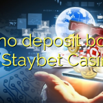 125 no deposit bonus at Staybet Casino