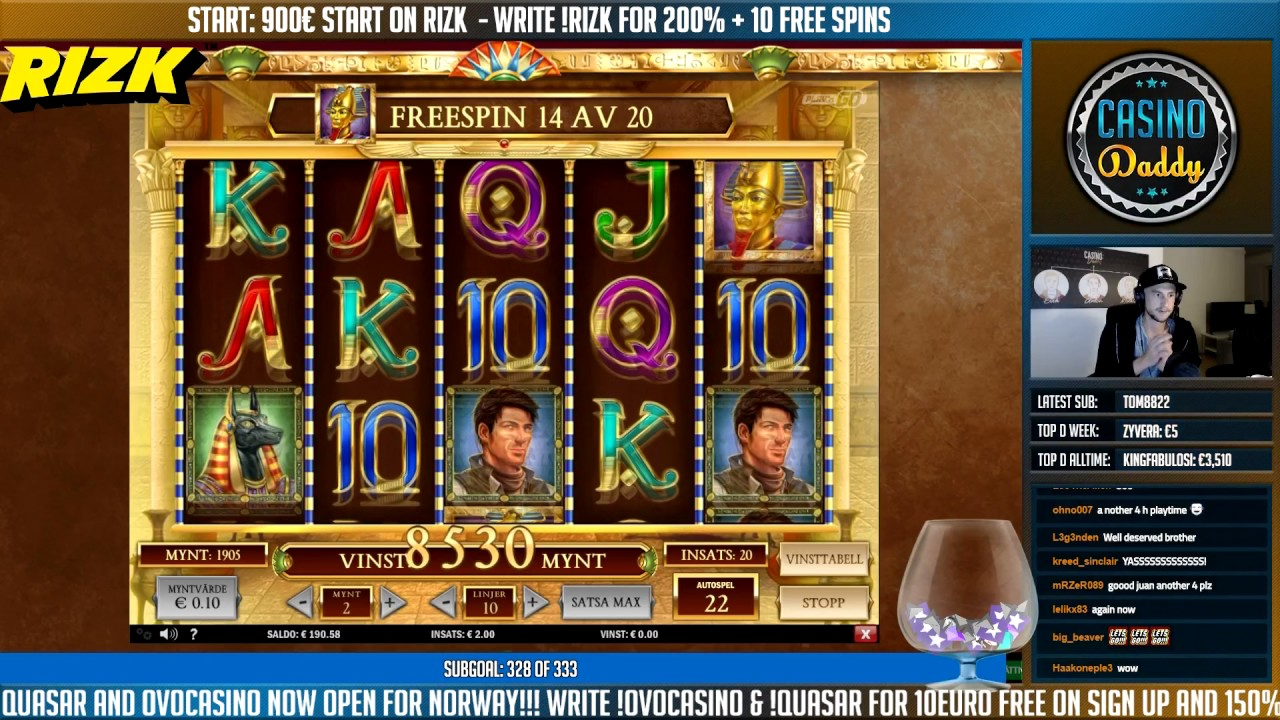 online casino winner book of ran